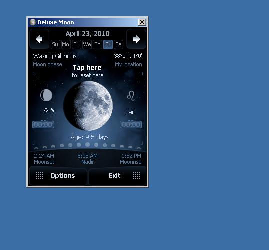Deluxe Moon Desktop