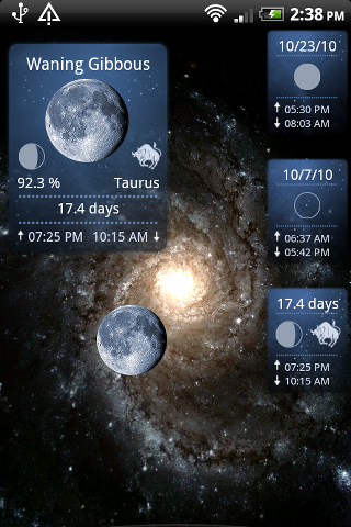 Moon Phase Widget