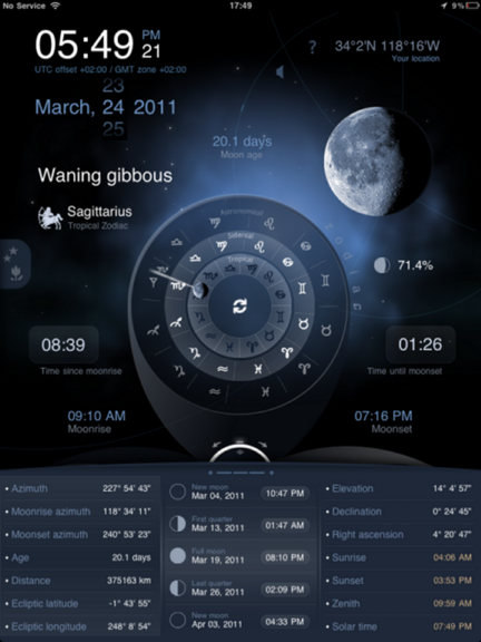 Deluxe Moon HD provides comprehensive moon information for iOS Dms_ipad_zodiac