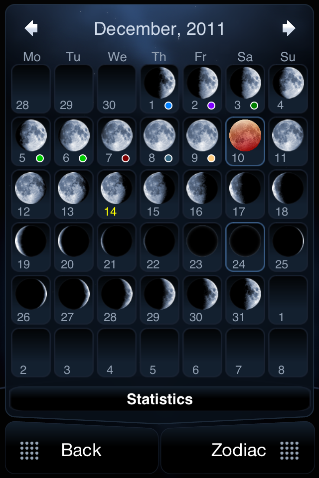 Deluxe Moon For iPhone